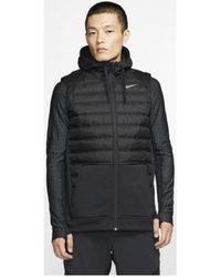 Nike Donsjas Therma Bv4534 - Zwart