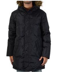 EA7 Doudoune 6xpk04 Noir 1200 Women's Coat In Black
