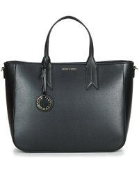 b4ea5784a31c Emporio Armani Two Tone Ripstop Sport Duffle Bag in Black for Men - Lyst