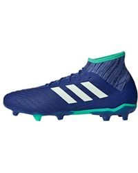 huge selection of b5fc5 33f2a adidas - Predator 182 Fg Mens Football Boots In Blue - Lyst