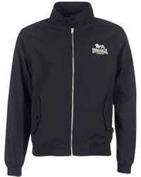 Lonsdale London Windjack Harrington - Zwart