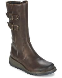 Fly London - Suli Women's Mid Boots In Brown - Lyst