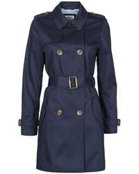 Esprit TRENCH LONG Trench - Bleu