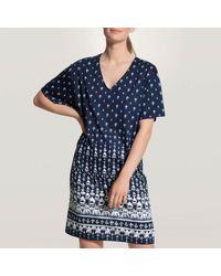 CALIDA Chemise de nuit Favourites Spring Pyjamas / Chemises de nuit - Bleu