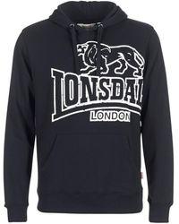 Lonsdale London Jersey TADLEY - Negro