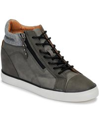Esprit Star Wedge Shoes (high-top Trainers) - Brown