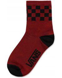 Vans Calcetines - Rojo