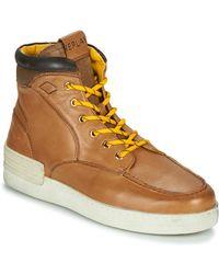 Replay Hoge Sneakers PIER BETIZ - Marron