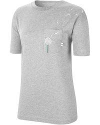 Nike - T-shirt Novel Tee Women - Lyst