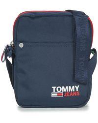 Tommy Hilfiger Handtasje Tjm Campus Reporter - Blauw