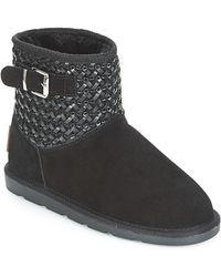 Les Tropéziennes Par M Belarbi CIRA femmes Boots en Noir