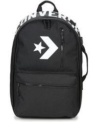 Converse - Street 22 Backpack Men s Backpack In Black - Lyst 1b7a413b812db