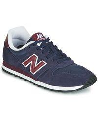 New Balance Lage Sneakers Ml373 - Blauw