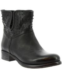 Leonardo Shoes Laarzen K304 Kiri Nero - Zwart