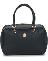 Tommy Hilfiger Handtas Th Essence Med Duffle Corp - Blauw