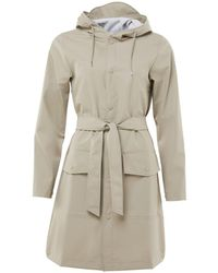 Rains Trenchcoat Belt Jacket - Naturel