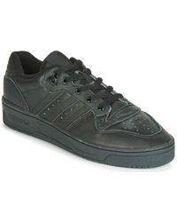 adidas Originals Rivalry Low Sneakers - Zwart