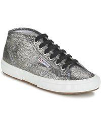 Superga Hoge Sneakers 2754 Lamew - Metallic