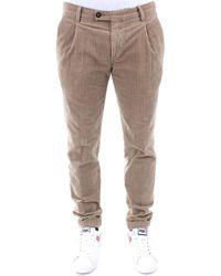 Michael Coal FREDERICK LUNGO 2470 W Pantaloni BEIGE - Neutro