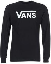 Vans T-shirt Lange Mouw Classic - Zwart
