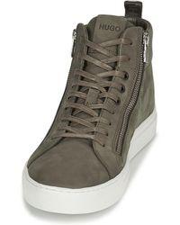 HUGO Zapatillas altas FUTURISM HITO - Gris