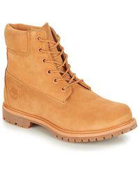 chaussure timberland marron
