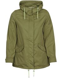 ONLY Parka Jas Onlawesome - Groen