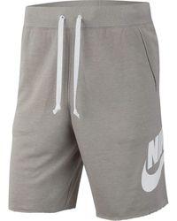 Nike Short Sportswear pour - Gris