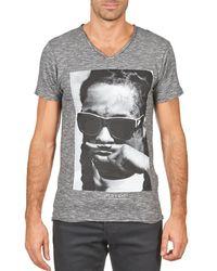 ELEVEN PARIS T-shirt Korte Mouw Lily M Men - Grijs
