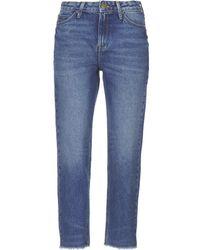 e0cb0b4d Lee Jeans - MOM STRAIGHT femmes Jeans en bleu - Lyst