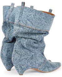 Stella McCartney Botas 515451 W1EW0 4071 - Azul
