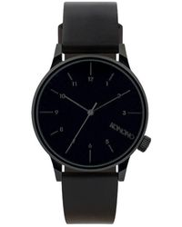 Komono Horloge - Winston Regal All Black - Zwart