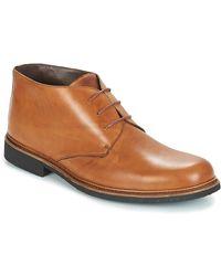 So Size JOPEZINE Boots - Marron