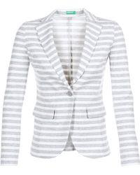 Benetton - Mazra Women's Jacket In White - Lyst