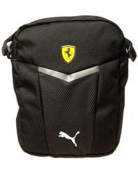 PUMA - Ferrari Fanwear Portable Men's Pouch In Black - Lyst