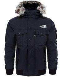 The North Face - Mens Gotham Jacket Men's Parka In Black - Lyst