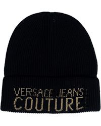 Versace Jeans Couture Bonnet E8GUAK00 - Noir