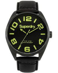 Superdry Military Syg192bya - Black