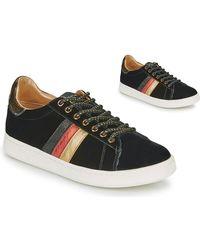 Serafini Lage Sneakers J.connors - Zwart