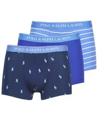 Polo Ralph Lauren Boxer CLASSIC TRUNK X3 - Azul