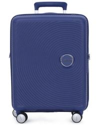 Samsonite Reiskoffer American Tourister 001 Soundbox Spinner 5520 Tx - Blauw
