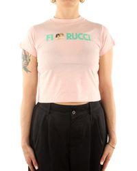 Fiorucci U09TLOA1CPP T-shirt - Rose