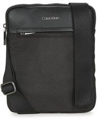 Calvin Klein Handtasje Ck Insert Flatpack - Zwart