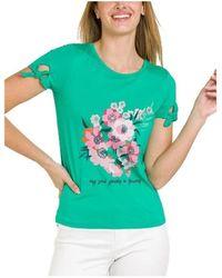 Naf Naf Tops y Camisetas PENT 133 - Verde