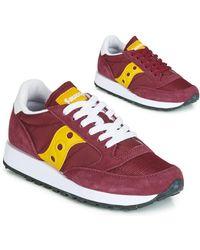 Saucony Lage Sneakers Jazz Original Vintage - Rood