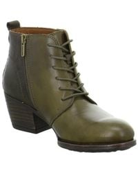Pikolinos - Baqueira Women's Low Ankle Boots In Green - Lyst
