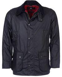 Barbour Blouson Ashby Wax Jacket - Noir