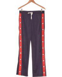 H&M Pantalon Bootcut Femme 36 - T1 - S Jogging - Bleu