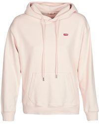 Levi's Sweater Levis Standard Hoodie - Roze