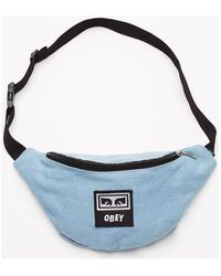 Obey Bolso Wasted hip bag - Azul